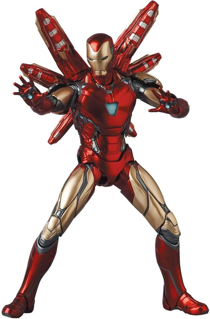 MAFEX《終局之戰》鋼鐵人馬克 85(終局之戰Ver.)可動人偶