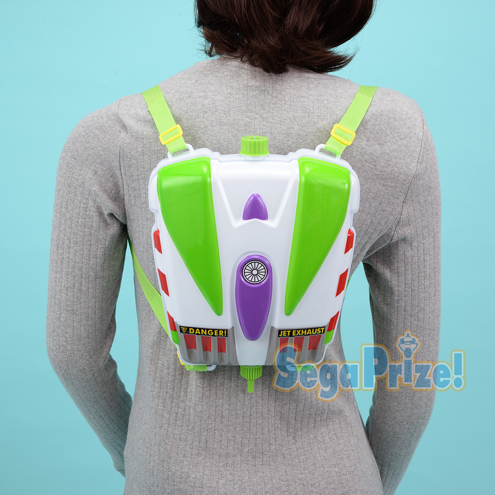 SEGA PRIZE《玩具總動員》巴斯光年 Premium水槍背包