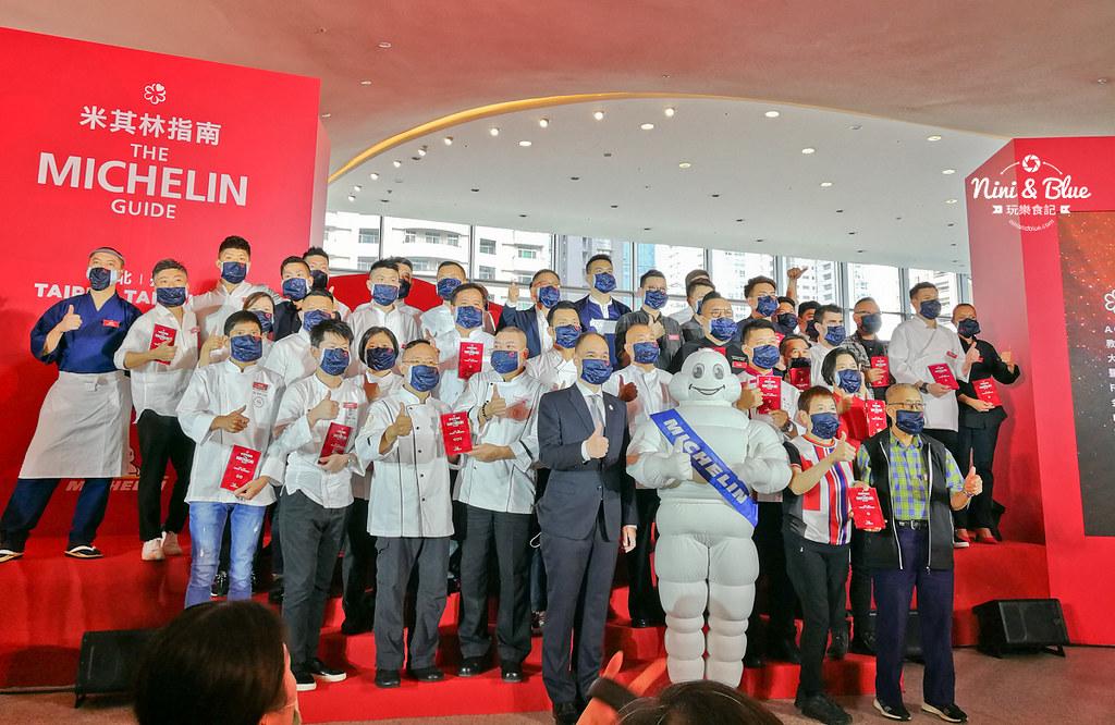 2020年米其林指南台中台北必比登01店家名單