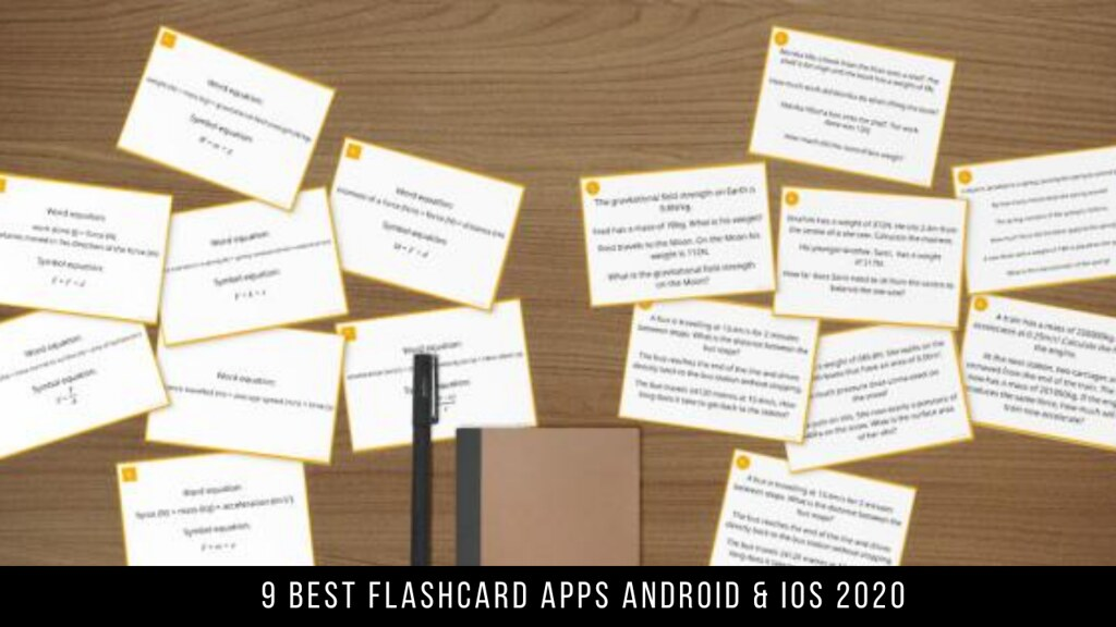 9 Best Flashcard Apps Android & iOS 2020