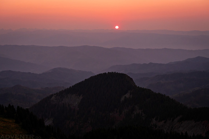 Olga Little Mountain Sunrise