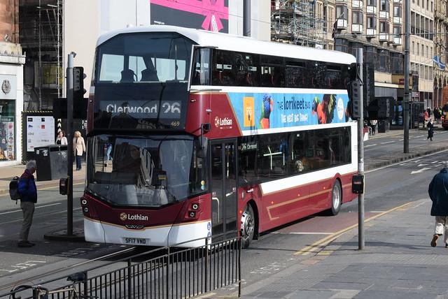 LB 469 @ Princes Street, Edinburgh
