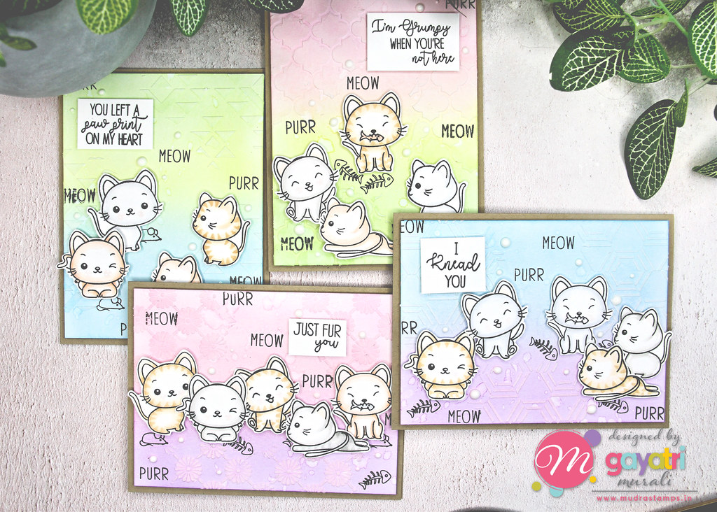 Cute Critter card set