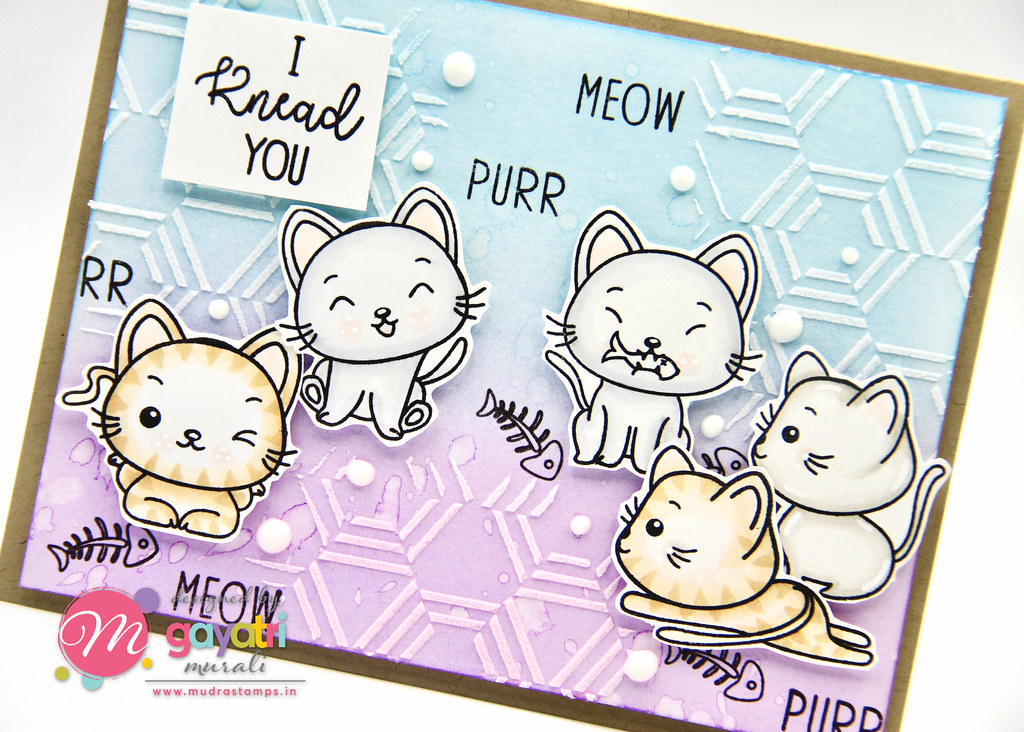 Cute Critter card #1 closeup1