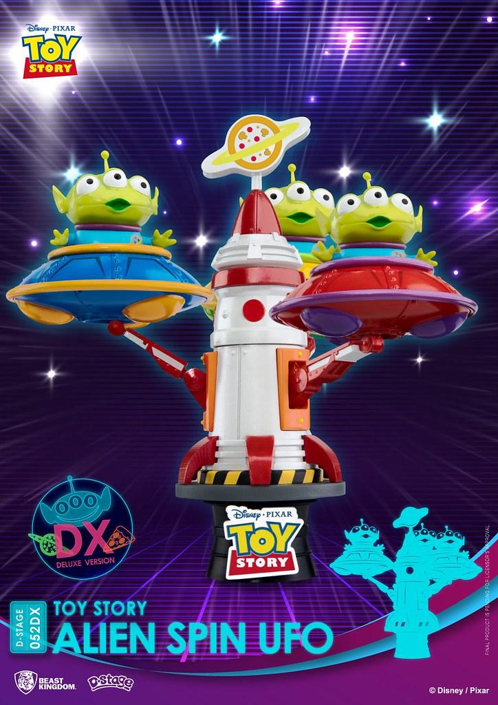 野獸國 夢-精選《玩具總動員》三眼怪飛碟豪華版 三隻阿三可愛現身!