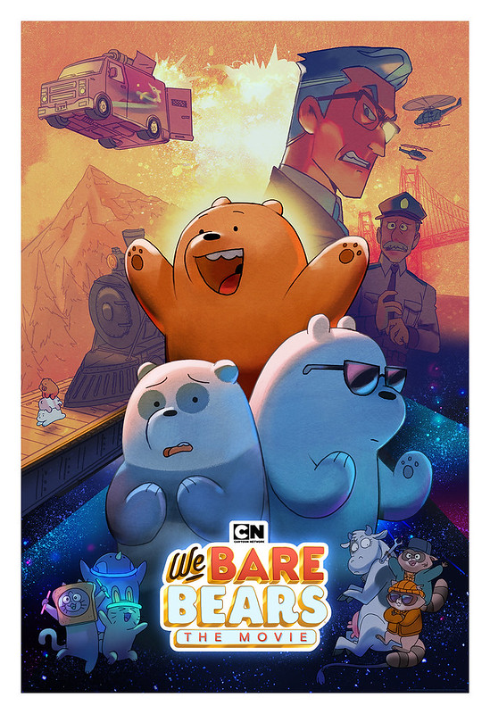 We Bare Bears The Movie_Poster1
