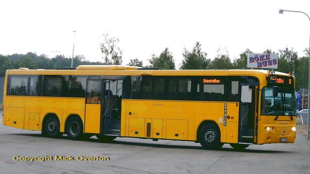 14.5m Volvo B12M Nobina 6999 REC616 Sweden