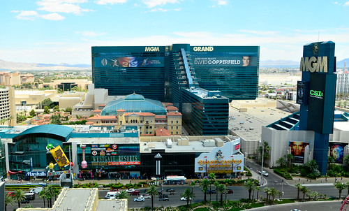 The MGM Grand and Las Vegas Strip | by M McBey