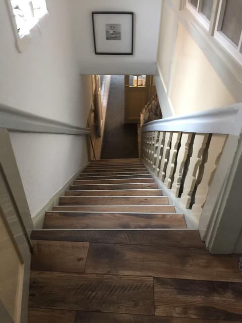 Gästezimmer zur Alten Brücke - Rotenburg - Treppen / Staircase