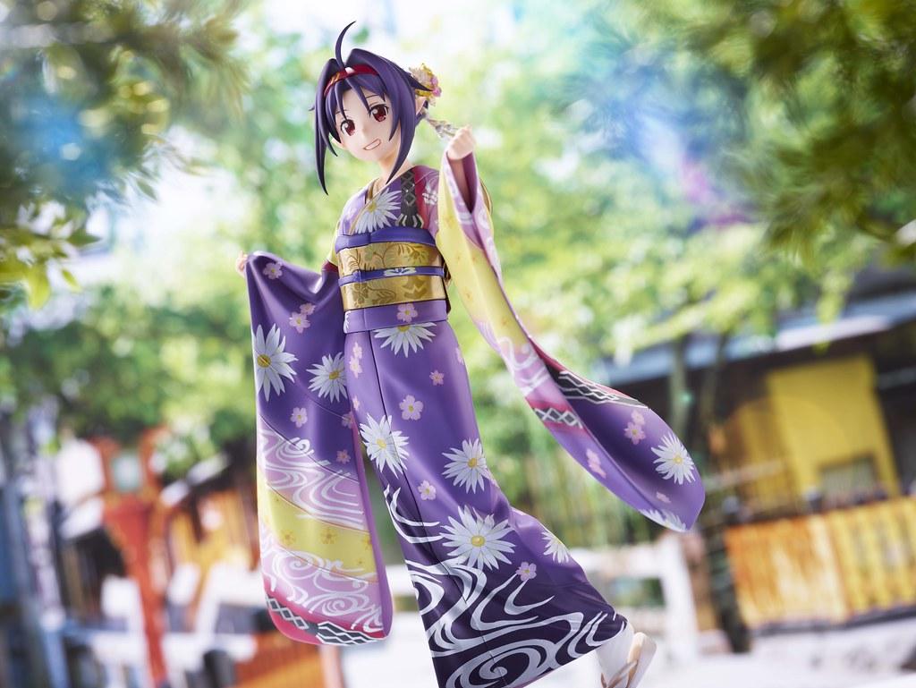 《刀劍神域》WAHOO! 「有紀 京友禪Ver.」1/7比例模型 Aniplex+限定登場!