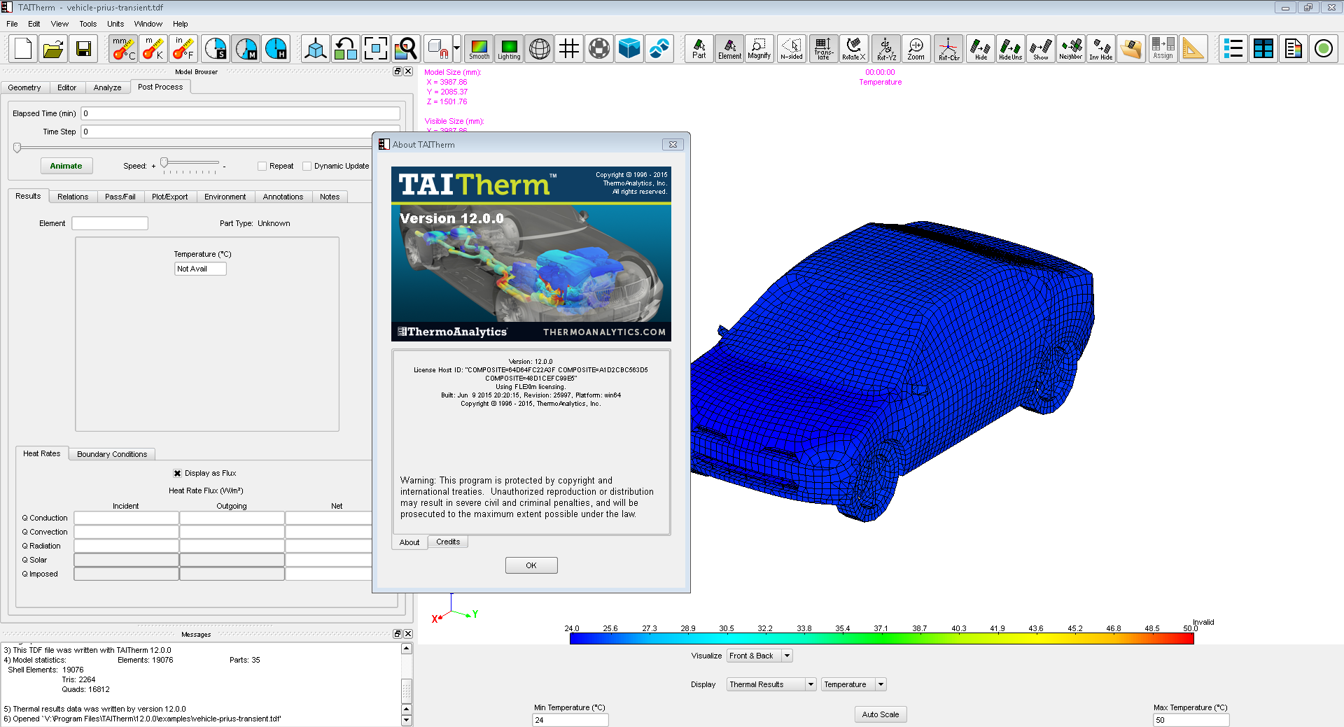 Working with Taitherm (ex-Radtherm) 12.0.0 full license
