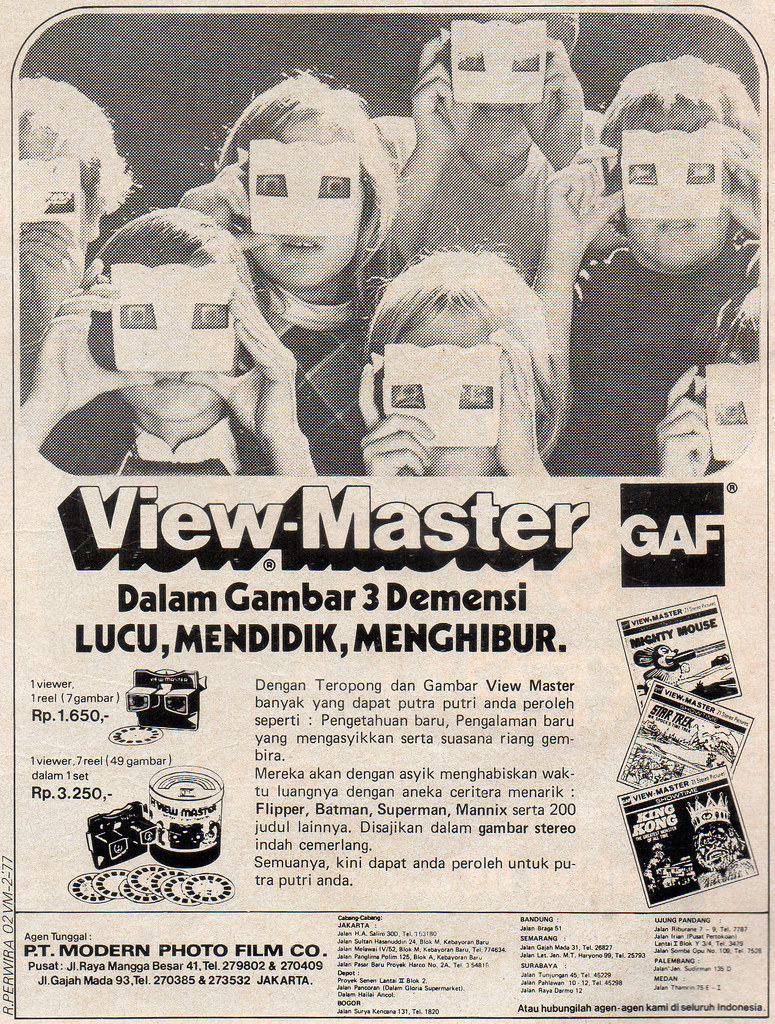 GAF View-Master - Kartini, 26 Desember 1977