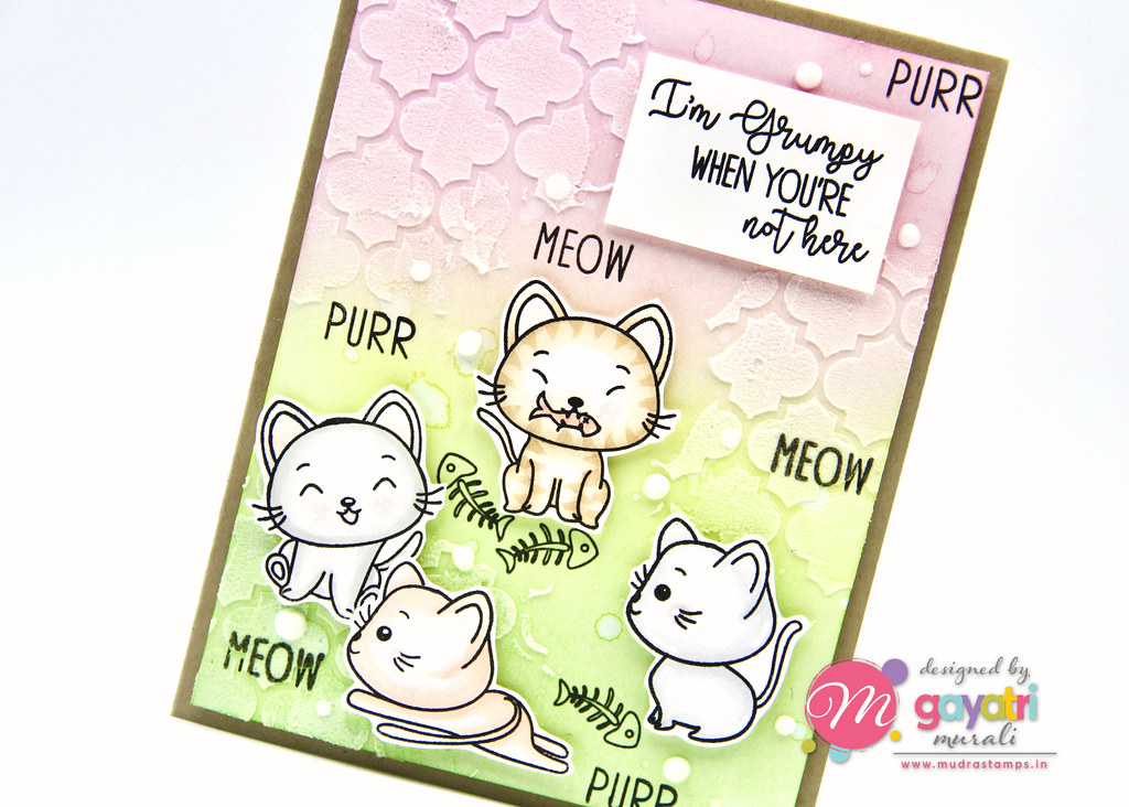 Cute Critter card #3 closeup1