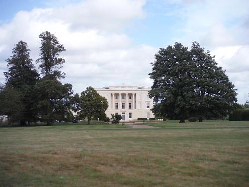 Burton Park (house) SWC Walk 39 - Amberley to Pulborough