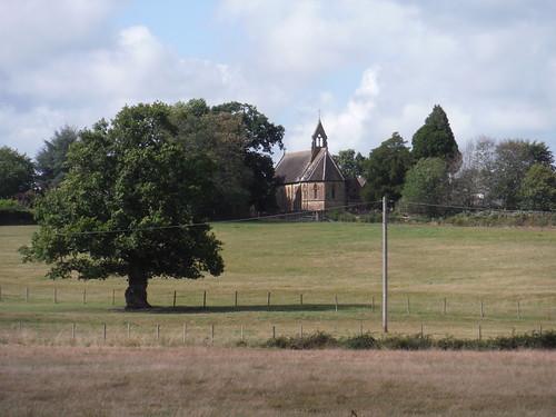 Duncton Church, from Burton Park SWC Walk 39 - Amberley to Pulborough