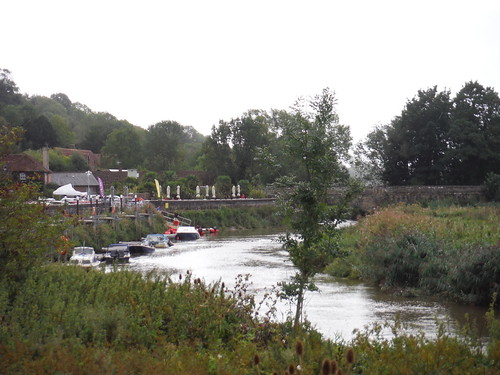 River Arun, near Amberley Station SWC Walk 39 - Amberley to Pulborough