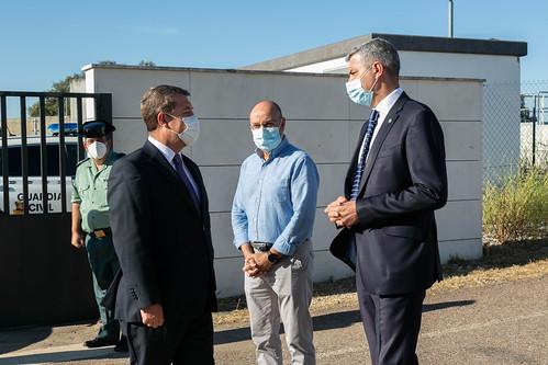Visita a la Estación de Tratamiento de Agua Potable del Sistema de Abastecimiento Campana de Oropesa-Cuatrovillas en Navalcán