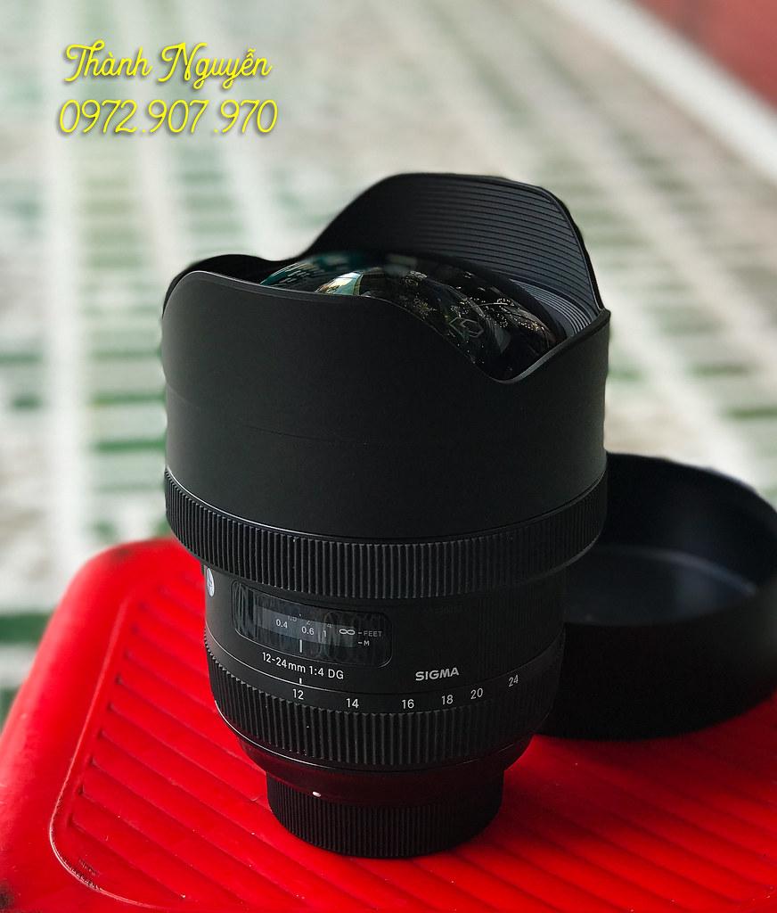 Bán lens Sigma Art 12-24mm for Nikon fullbox góc siêu rộng 1
