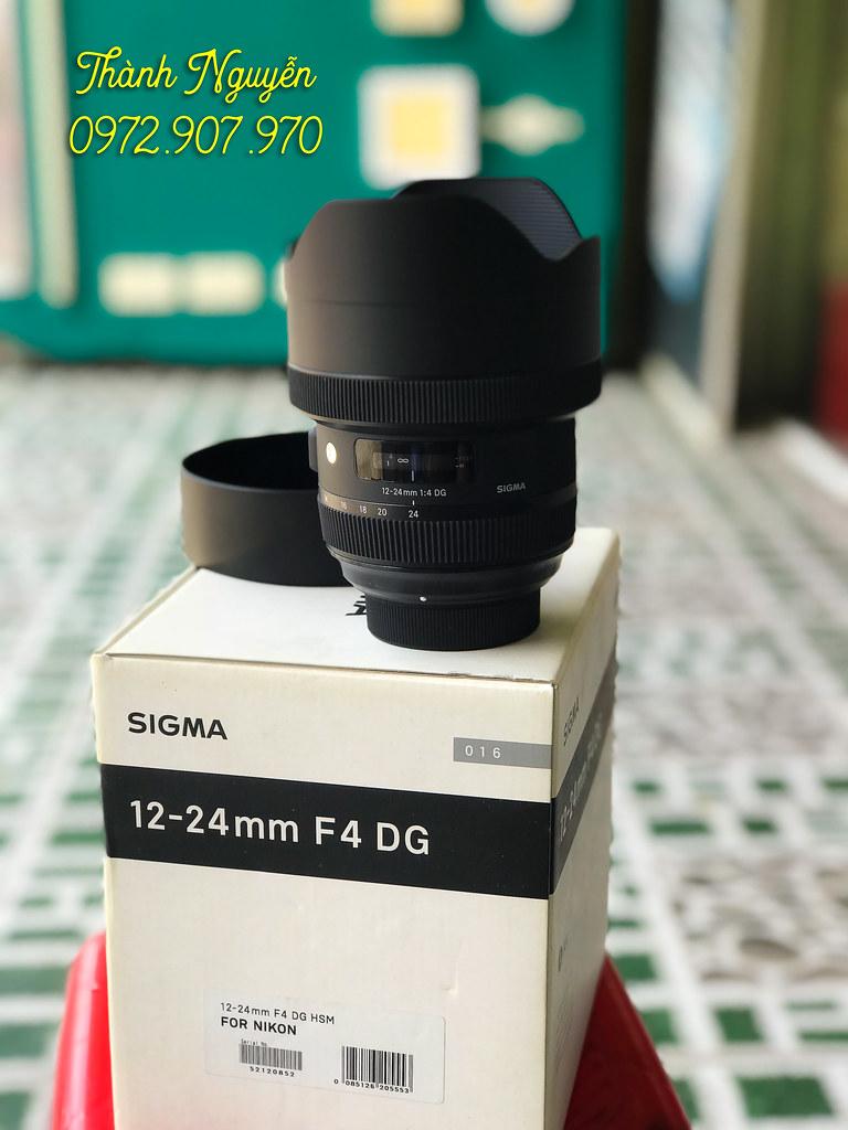 Bán lens Sigma Art 12-24mm for Nikon fullbox góc siêu rộng 4
