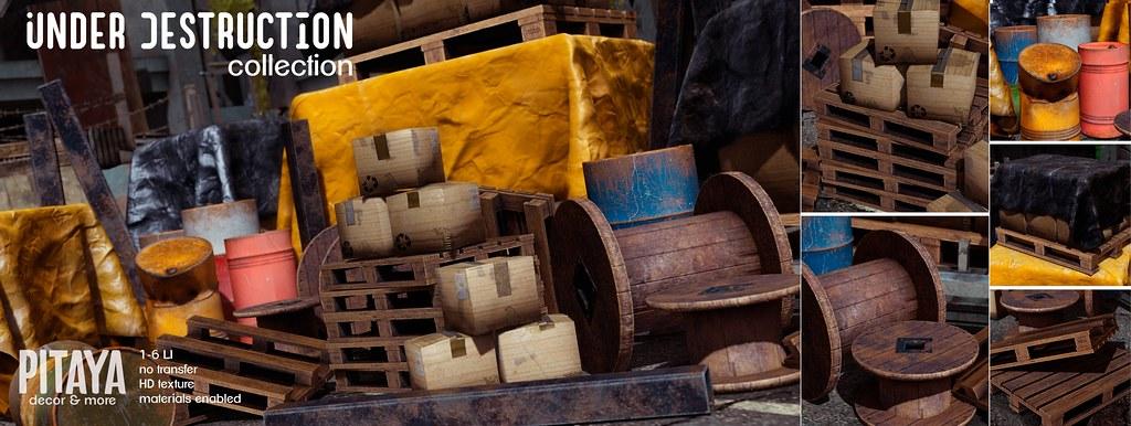PITAYA – Under Destruction @ Warehouse Sale