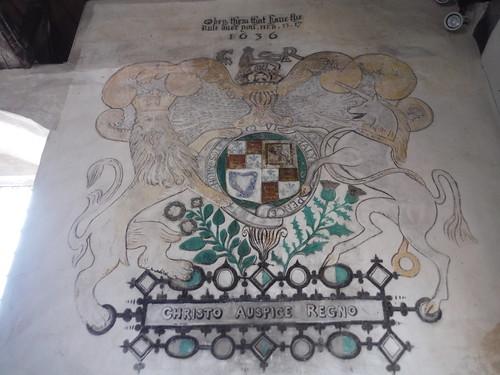 Mural, St. Richard's Church, Burton Park SWC Walk 39 - Amberley to Pulborough