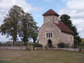 St. Richard's Church, Burton Park SWC Walk 39 - Amberley to Pulborough
