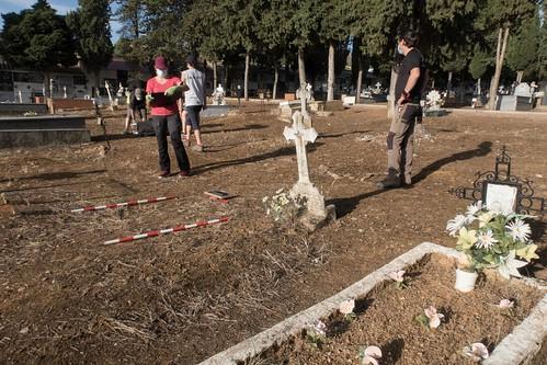 Exhumación Almadén (Ciudad Real)