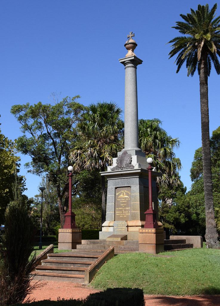 War memorial, Memorial Park, Mascot, Sydney, NSW.
