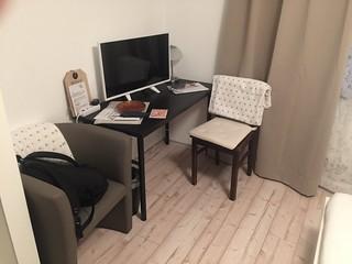 Gästezimmer zur Alten Brücke - Rotenburg - Schreibtisch / Desk