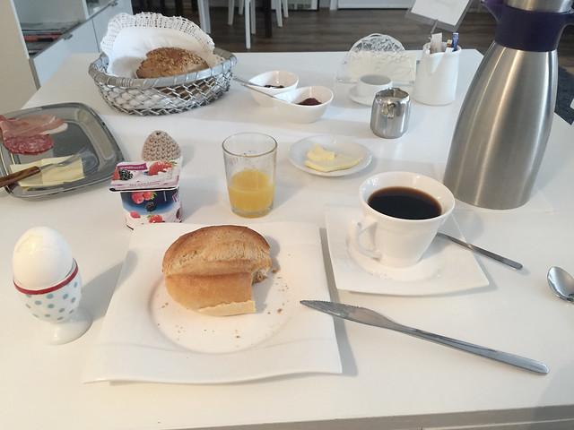 Gästezimmer zur Alten Brücke - Rotenburg - Frühstück