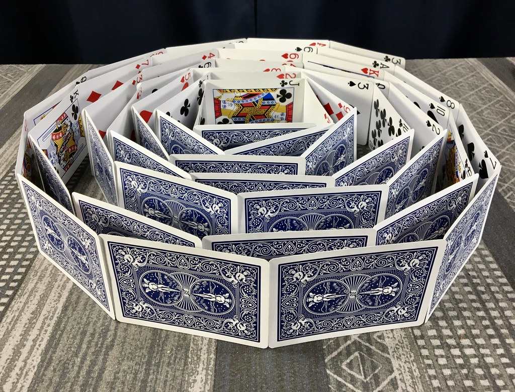 Spiral of Cards