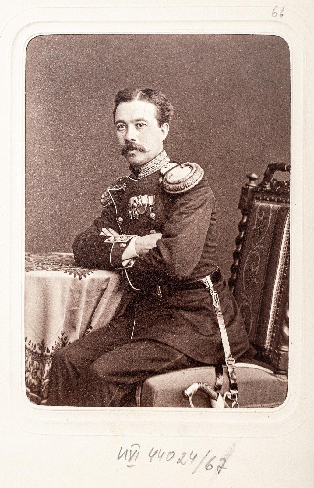 Неизвестный офицер Измайловского полка2