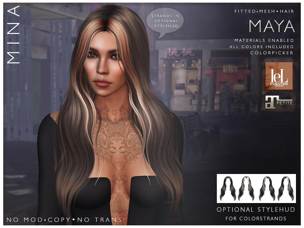 MINA Hair – Maya @UBER