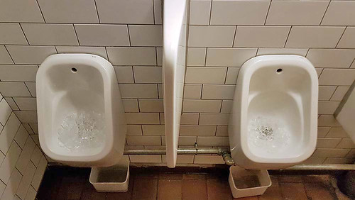 Two Small Urinals
