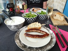 Simple Dinner at Home in Saint-Yrieix