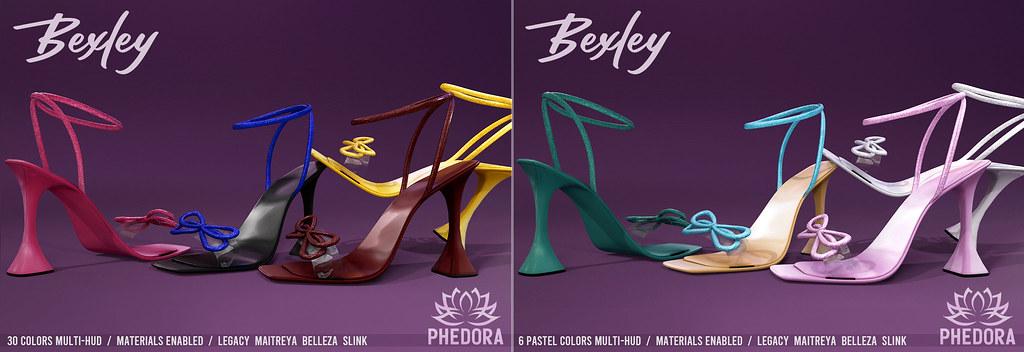 "Phedora. for Kustom9 – ""Bexley"" Heels ♥ (mid feet)"