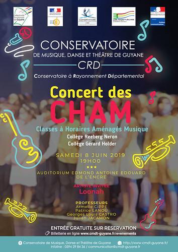 Concert des CHAM (08/06/2019)