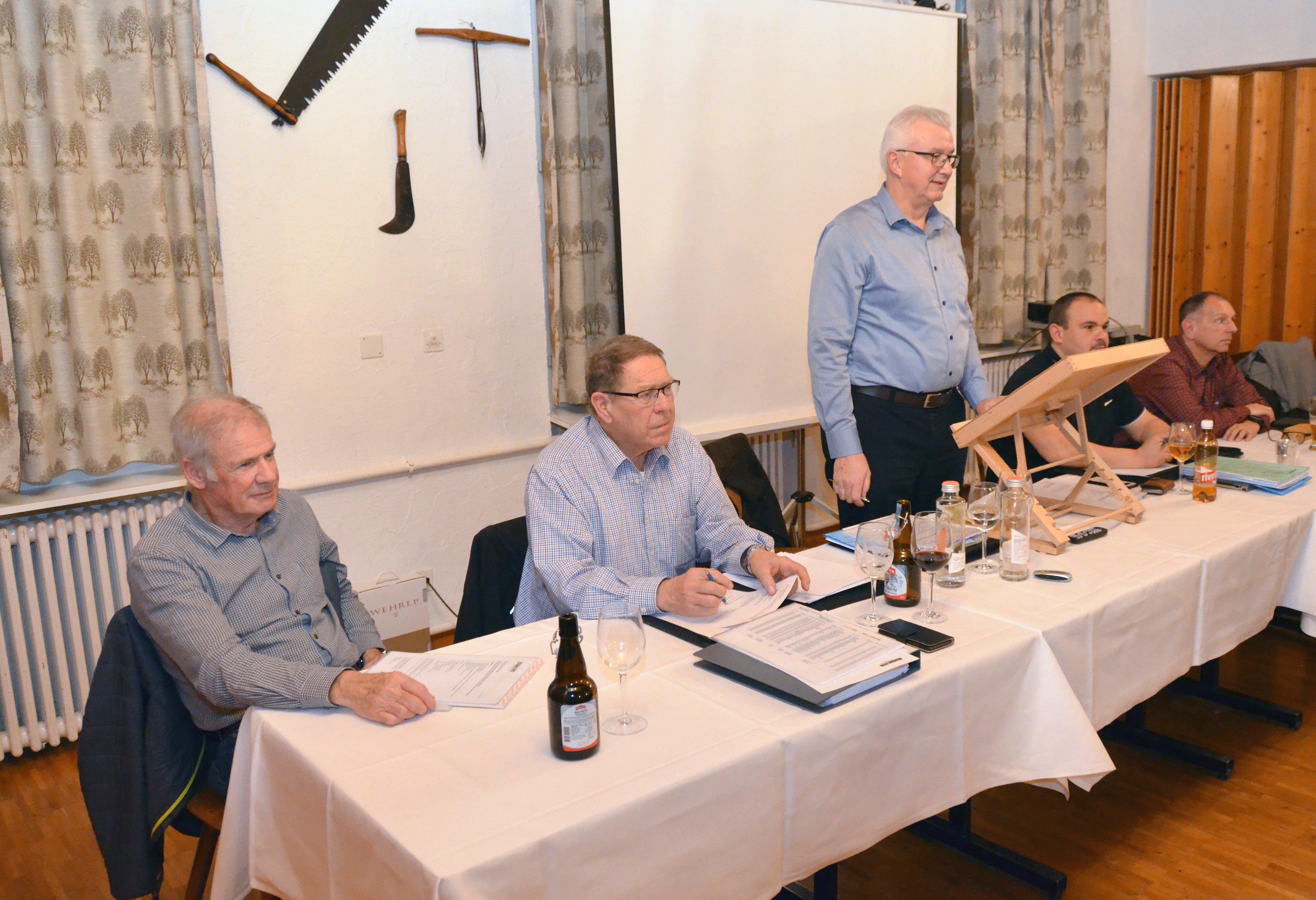 Männerriege: Generalversammlung 2020
