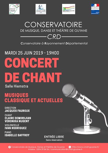 Concert de chant (25/06/2019)