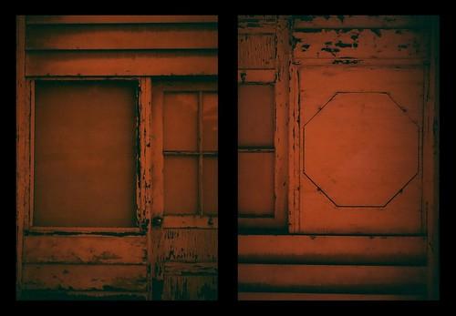 Half-Frame Redscale