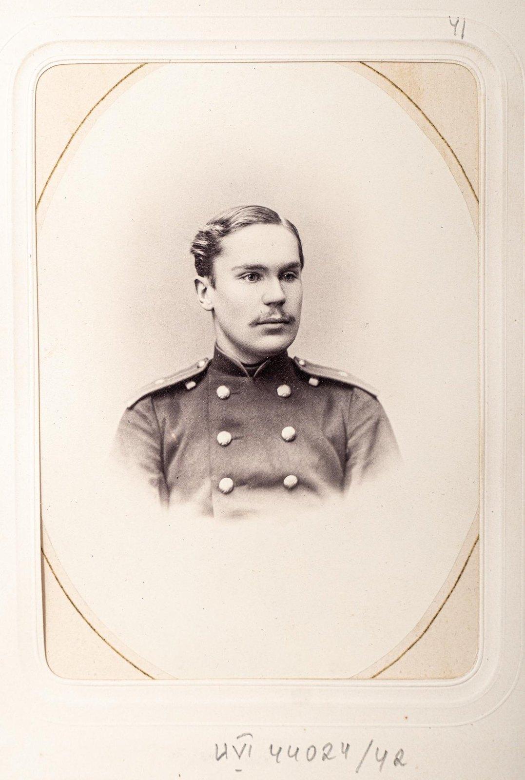 Неизвестный офицер Измайловского полка (2)