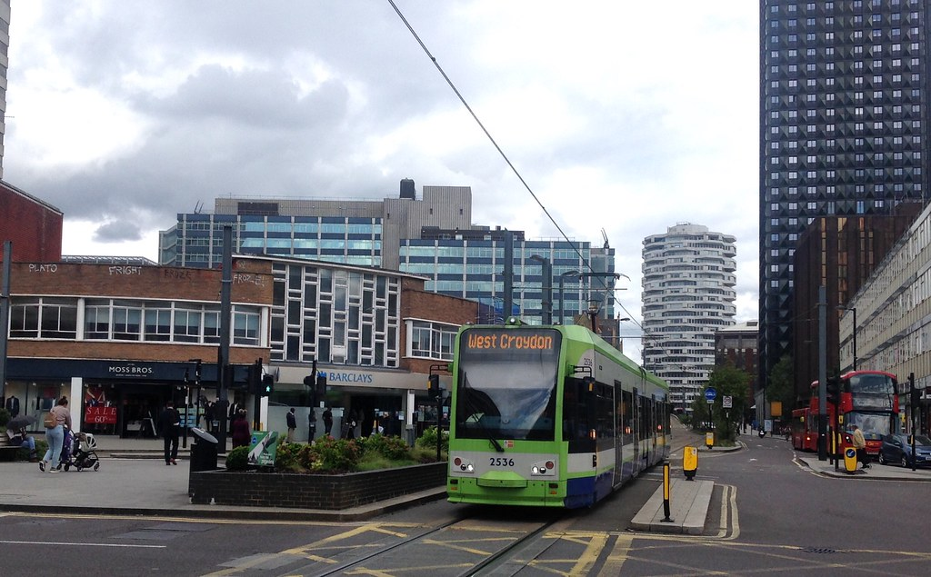 First | Tramlink 2536 | Bombardier CR4000 on the 2 | 24/08/20