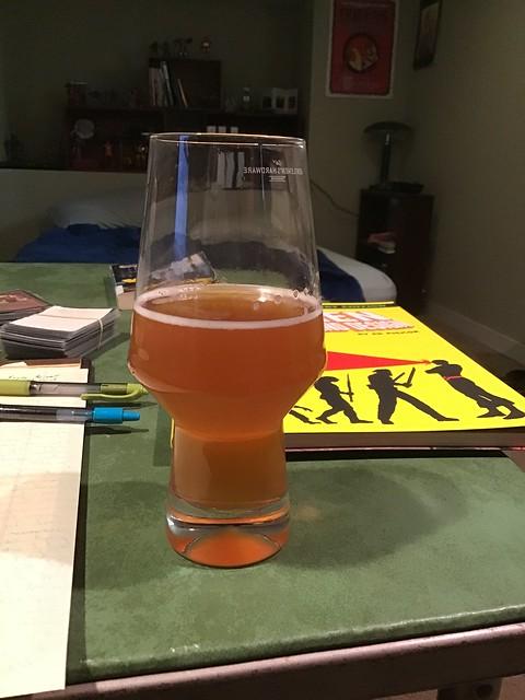 50-50 pale ale homebrew