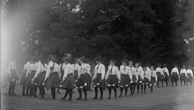 Sports at Carshalton House, (St Philomena's), 14 Jul 1908