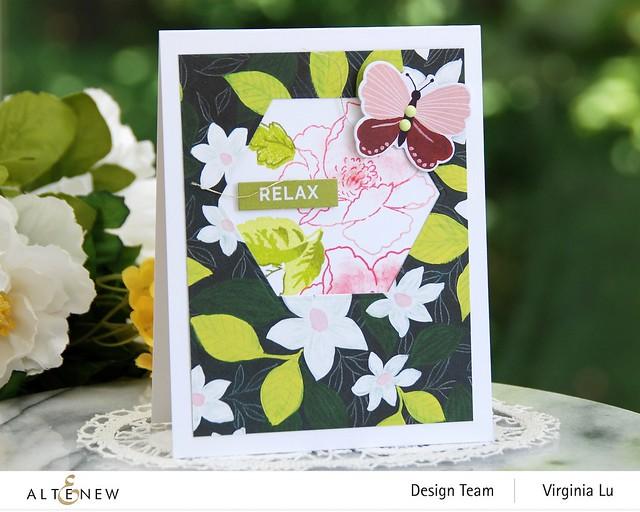 Altenew-Enjoy The Ride PaperPad-NatureWithin Stamp-Geo Frame Die (2)