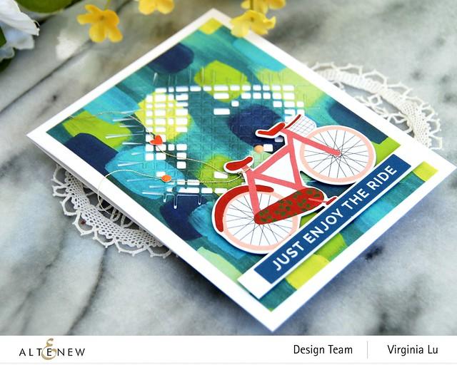 Altenew-Enjoy The Ride PaperPad-Burlap Texture Die-Blooming Ephemera-003