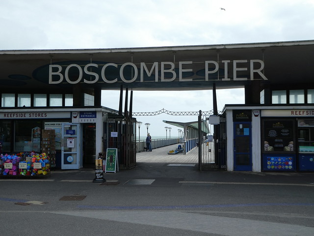 Entrance to Boscombe Pier