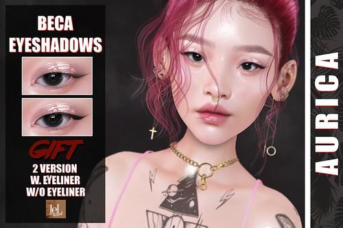 #AURICA Beca Eyeshadows