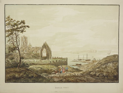 """The BL King's Topographical Collection: """"HOWTH ABBEY. """""""