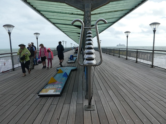 Percussion Play instruments on Boscombe Pier